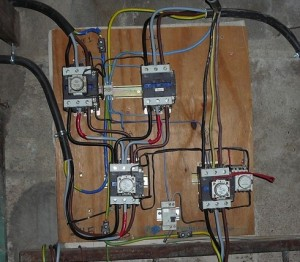 Power supply control board